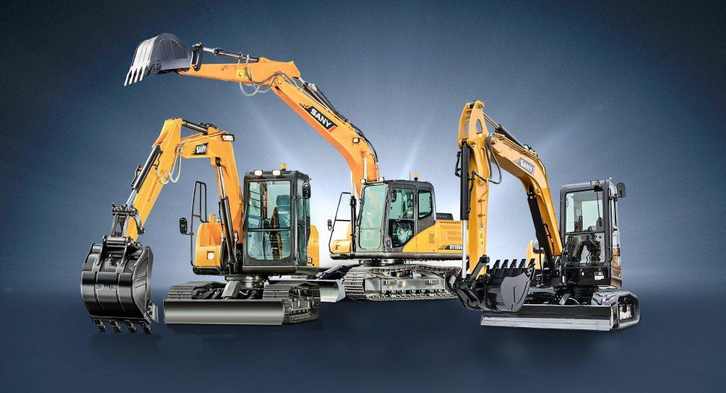 Construction machinery – SANY Europe