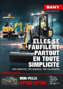 SANY Europe Broschüre SY16C SY18C