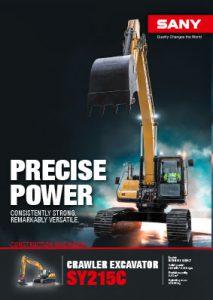 SANY Europe Broschüre SY215C