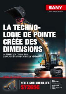SANY Europe Broschüre SY265C