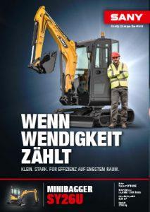 SANY Europe Broschüre SY26U