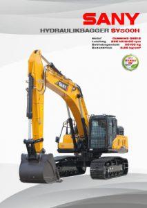 SANY Europe Broschüre SY500H