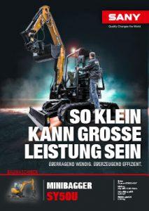 SANY Europe Broschüre SY50U