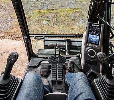 SANY Europe Baumaschine SY26U Kompaktbagger