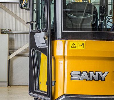 SANY Europe Baumaschine SY26U Minibagger