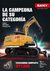 SANY Europe Baumaschinen SY135C
