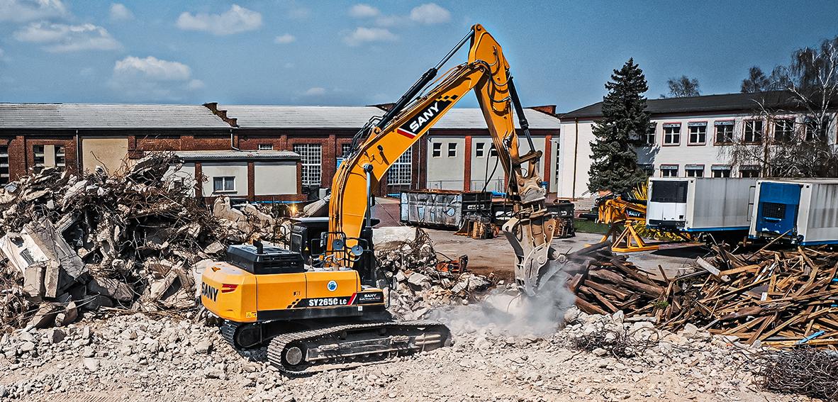 SANY Europe Baumaschinen SY265C SY500HRD